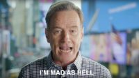 Bryan Cranston wants you to yell at him