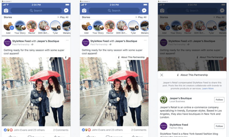 Facebook aims to give more transparency around brand-influencer relationships | DeviceDaily.com