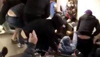 Jarring video shows an escalator going berserk in Rome, injuring multiple soccer fans