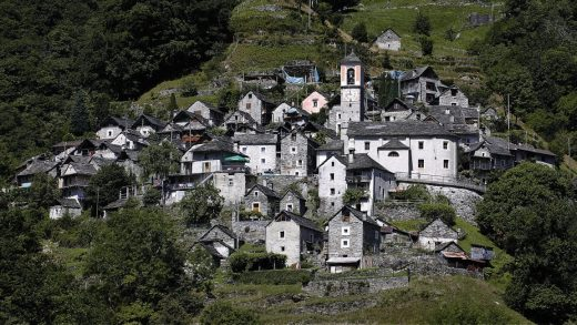 This tiny town in the Alps is turning itself into one big hotel