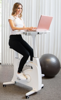 Acquire the FlexiSpot Bike Desk for Fun, Not Just for the Health Benefits