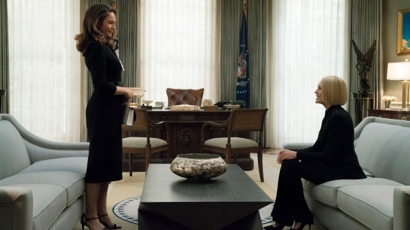 """Final """"House of Cards"""" season goes all in, borrows from our insanely awful reality 
