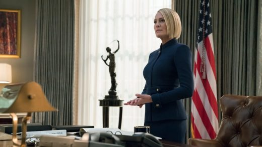 """Final """"House of Cards"""" season goes all in, borrows from our insanely awful reality"""