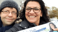 Michigan's Rashida Tlaib is the first Muslim woman elected to Congress