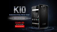 OUKITEL K10 with 11000mAh Battery up for Presale at $249.99