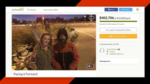 Plot twist: The $400,000 GoFundMe for a homeless man was all a scam
