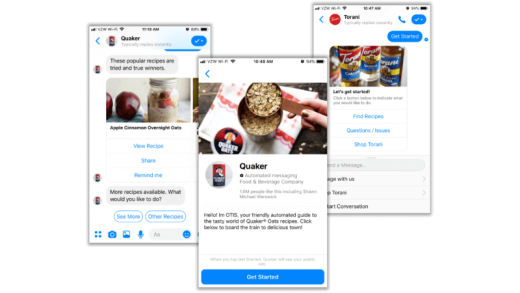 Quick guidelines for getting users info they need in chatbots