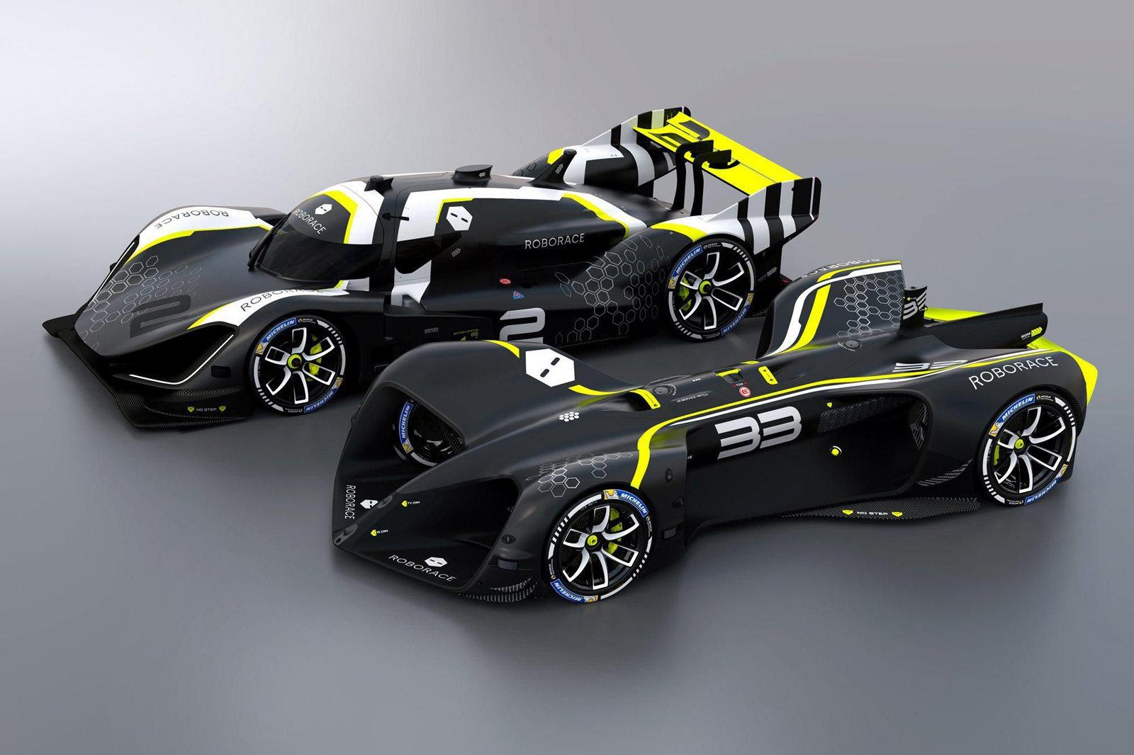 Roborace won't use a fully driverless car for its first season | DeviceDaily.com