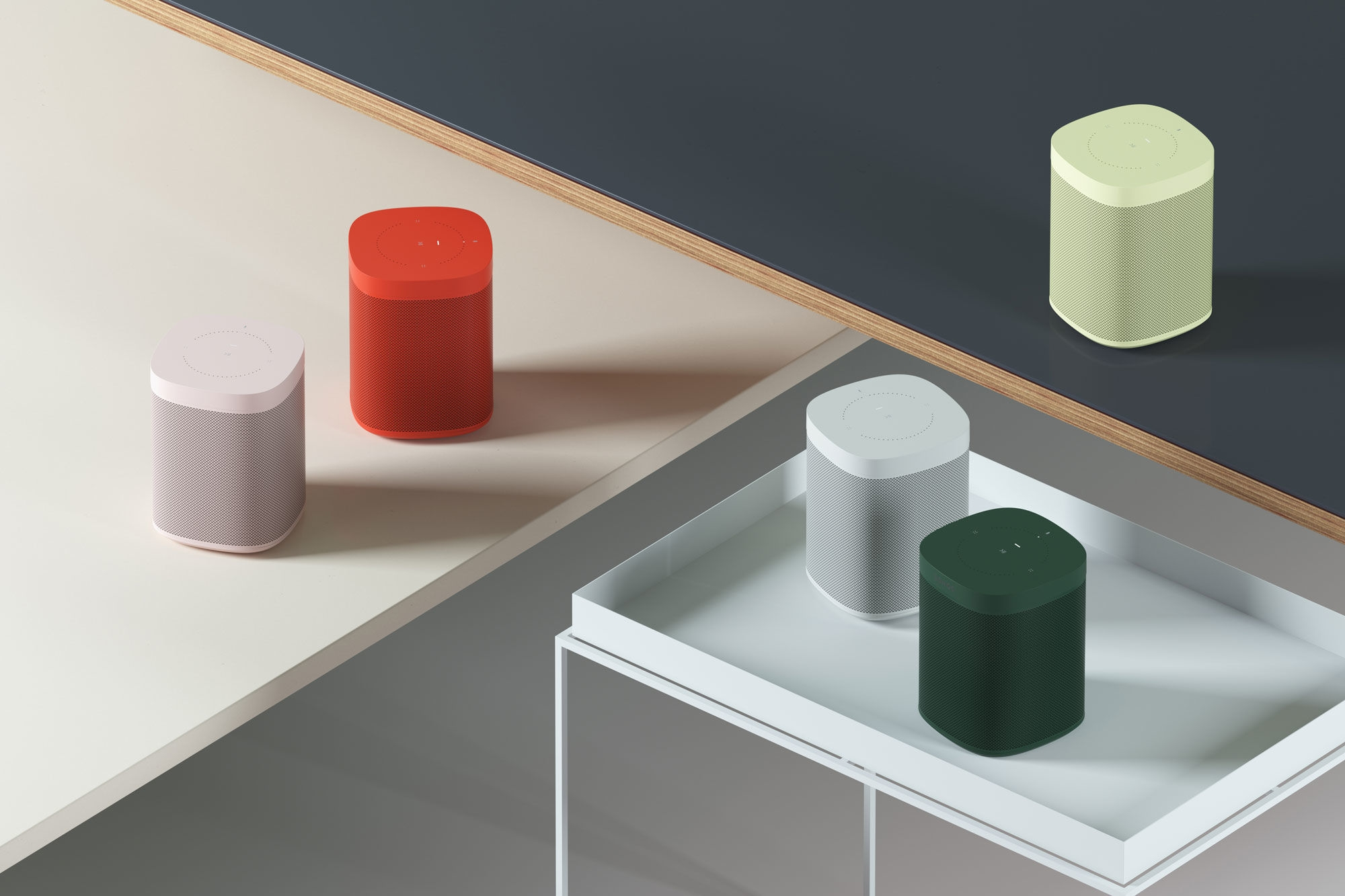 Those colorful Sonos One speakers go on sale November 5th | DeviceDaily.com
