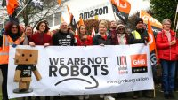 Thousands of Amazon workers in Europe stage Black Friday strike