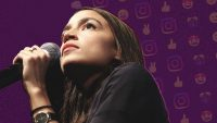 Trump has Twitter. Alexandria Ocasio-Cortez is winning Instagram