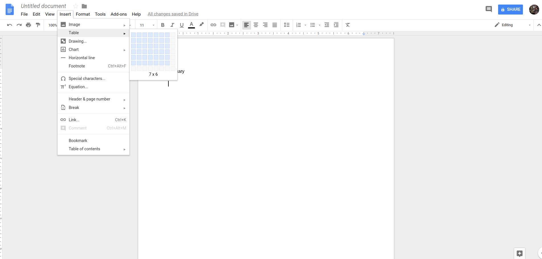 Google Docs Table | DeviceDaily.com