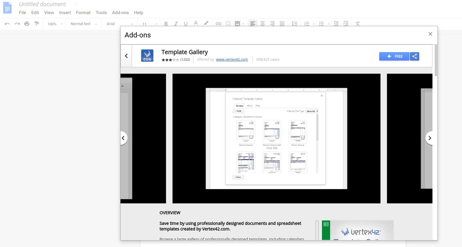 Google Docs Template Gallery | DeviceDaily.com
