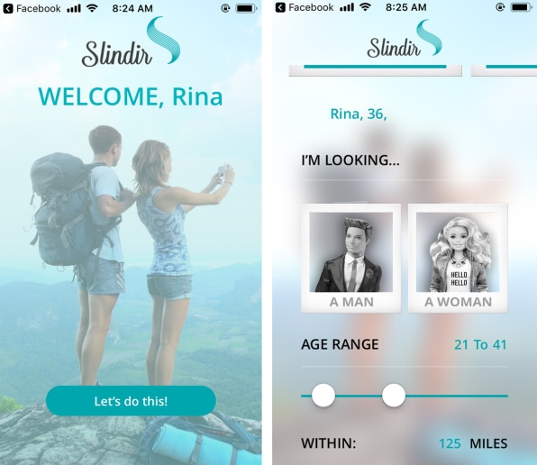 """Slindir, the dating app for """"healthy"""" singles, knows exactly who it's targeting 
