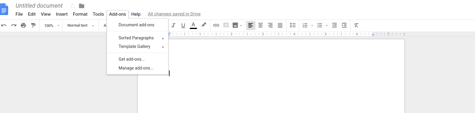 Installed Add-ons in Google Docs | DeviceDaily.com