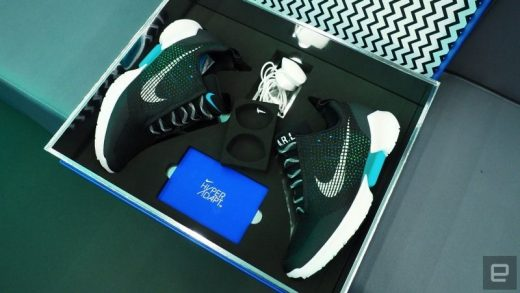 b98f6e3ba79a78 Nike s first self-lacing basketball shoes go on sale in 2019 for  350
