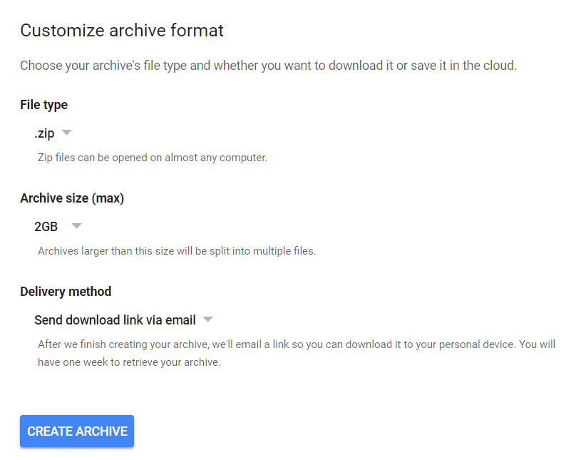 Format your Gmail archive | DeviceDaily.com