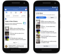 Facebook Debuts Local News Aggregator 'Today In'
