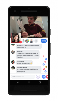 Facebook extends Watch Party to Pages and personal profiles, adds features
