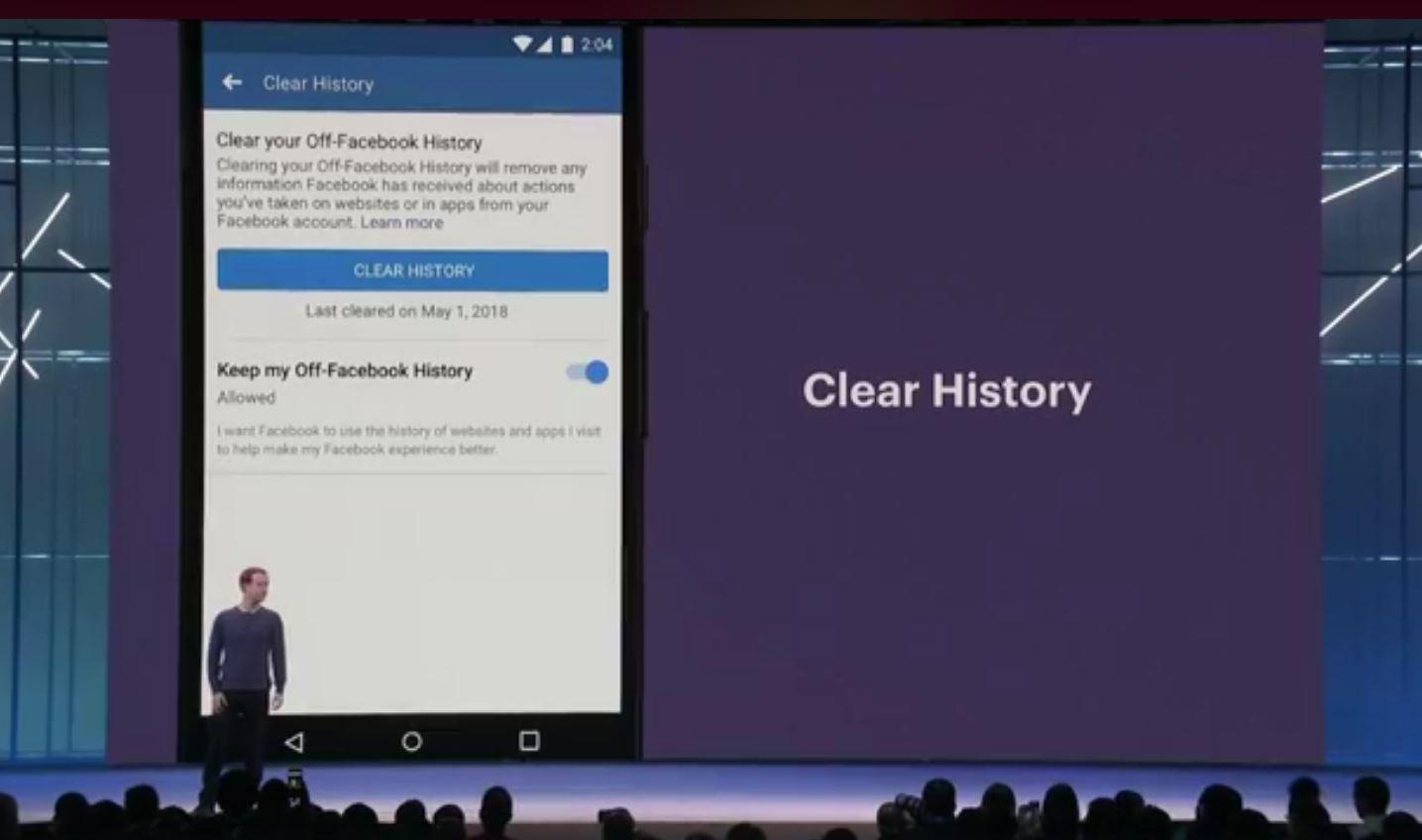 Facebook's 'Clear History' feature delayed until spring 2019   DeviceDaily.com