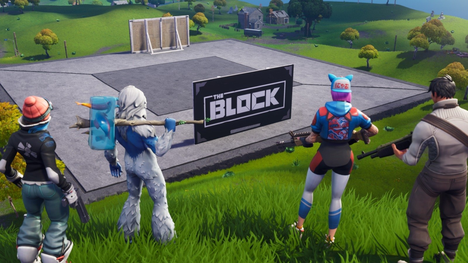 'Fortnite' launched 'The Block' live in-game during The Game Awards   DeviceDaily.com