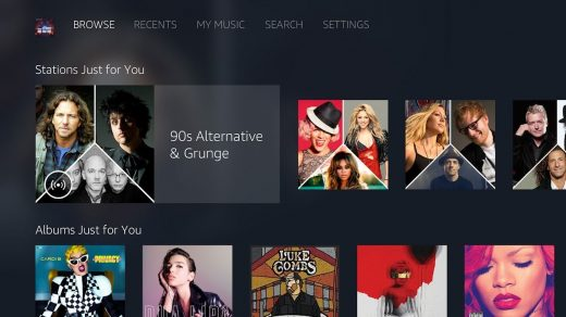Get ready for Amazon Music on Android TV