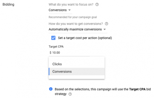 Google adds pay for conversions bidding in Display campaigns