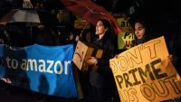 How community activists are gearing up to fight Amazon's new offices
