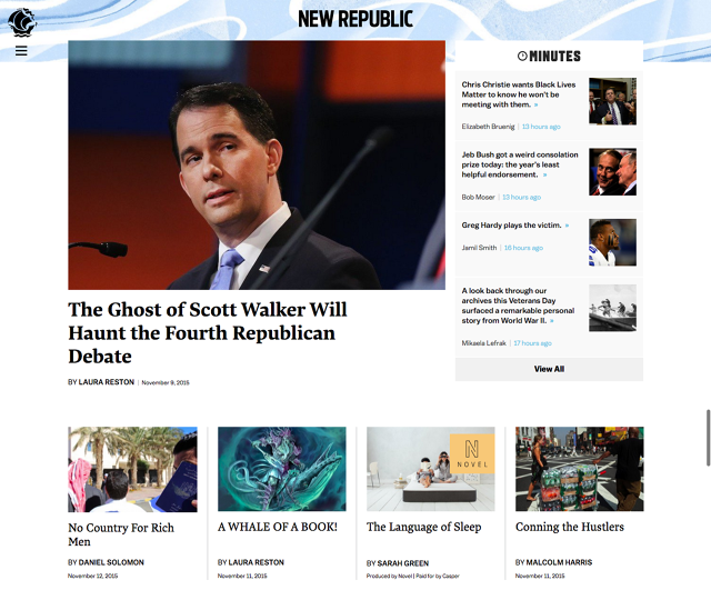 How the brand new Republic's redesign Is Chasing Millennials | DeviceDaily.com