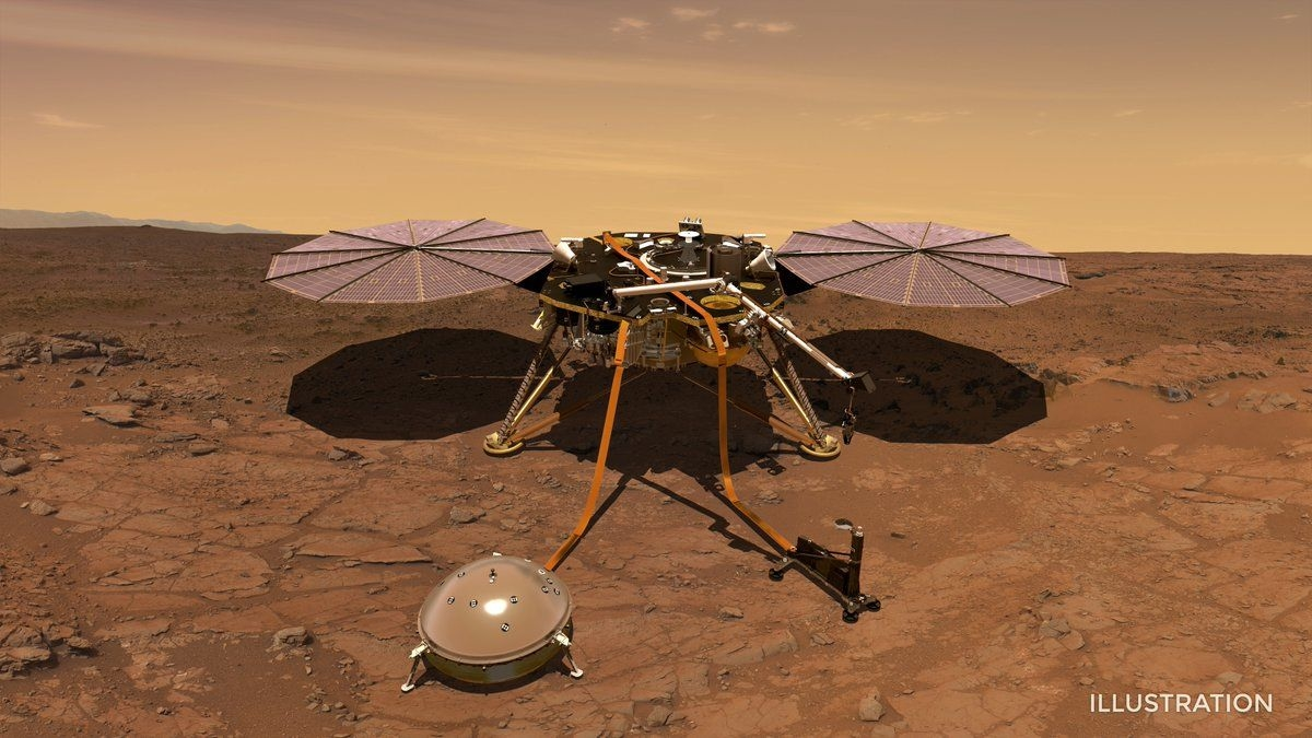 InSight lander settles into its Martian 'sandbox' | DeviceDaily.com