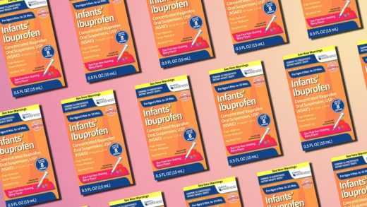 Infant ibuprofen recall affects products from CVS, Walmart, and Family Dollar