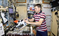 Living tissue 'printed' in space for the first time