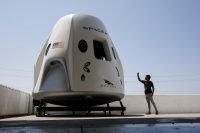 NASA and SpaceX reschedule the first crew capsule test flight