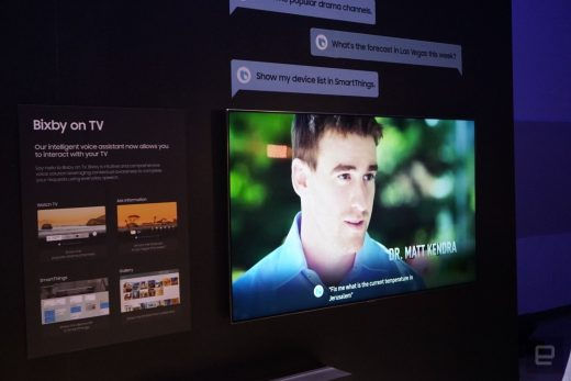 Samsung's 2019 TVs could add Google Assistant AI along with Bixby