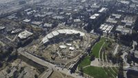 See Google's spectacular new headquarters rising in California