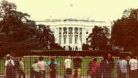 The Secret Service is testing face-recognition surveillance outside the White House
