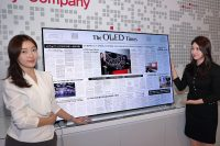 LG Display unveils an 88-inch 8K OLED screen with built-in sound
