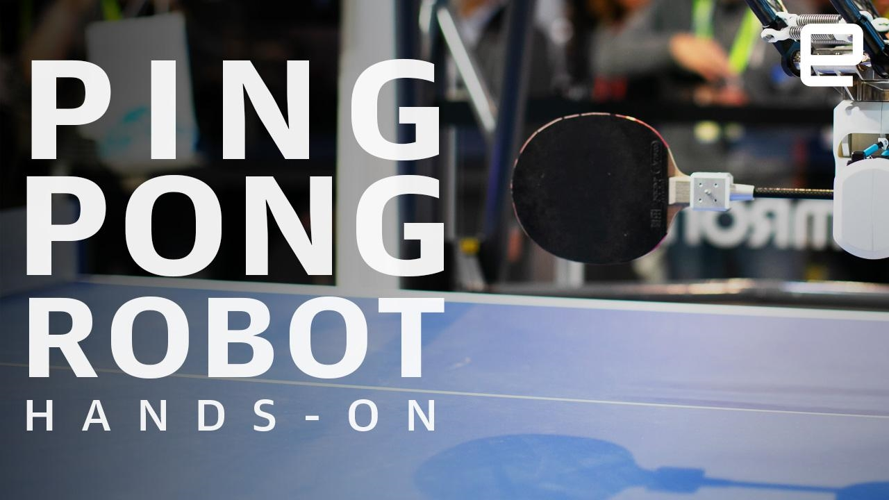 OMRON's redesigned ping pong robot no longer holds back | DeviceDaily.com