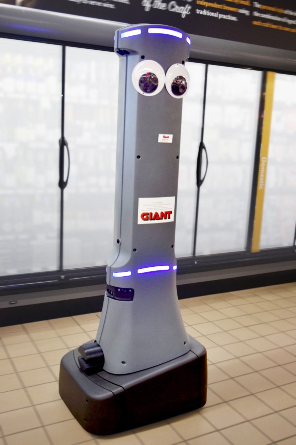 Stop  and  Shop gets 500 googly eyed robots so humans will know where to clean up | DeviceDaily.com