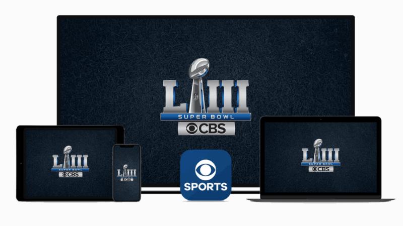 CBS packaging Super Bowl LIII digital stream spots with linear | DeviceDaily.com