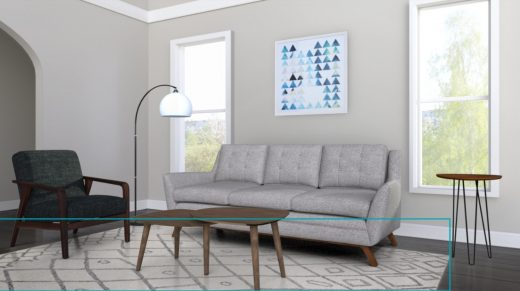 Amazon's online Showroom shows you if different furniture goes together
