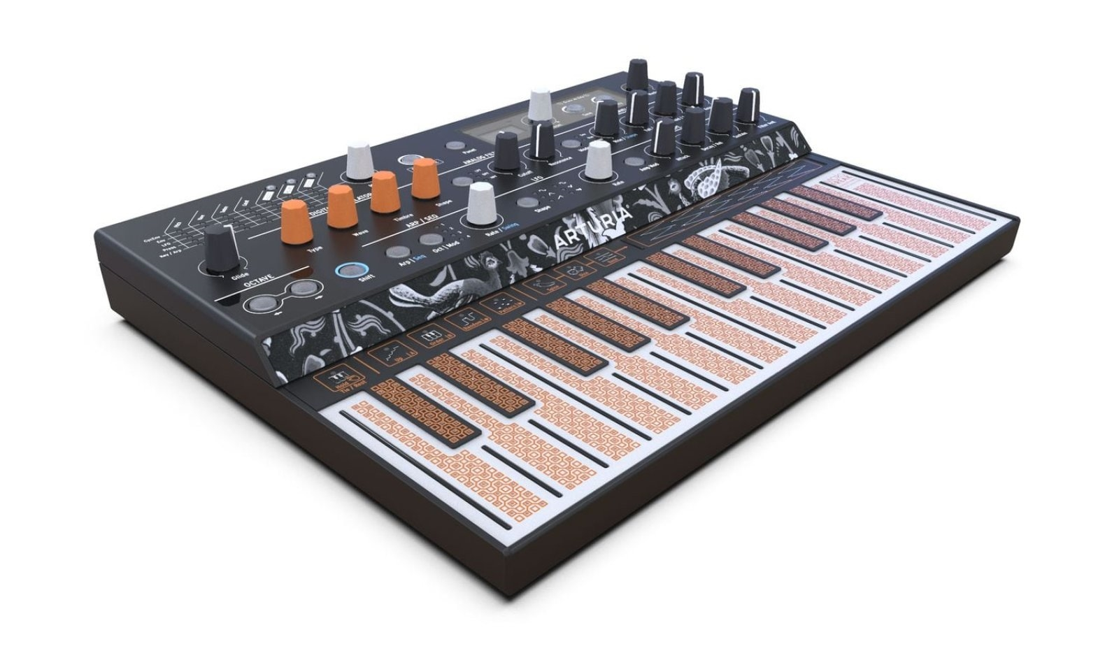 Arturia's MicroFreak is an affordable synth that lives up to its name | DeviceDaily.com