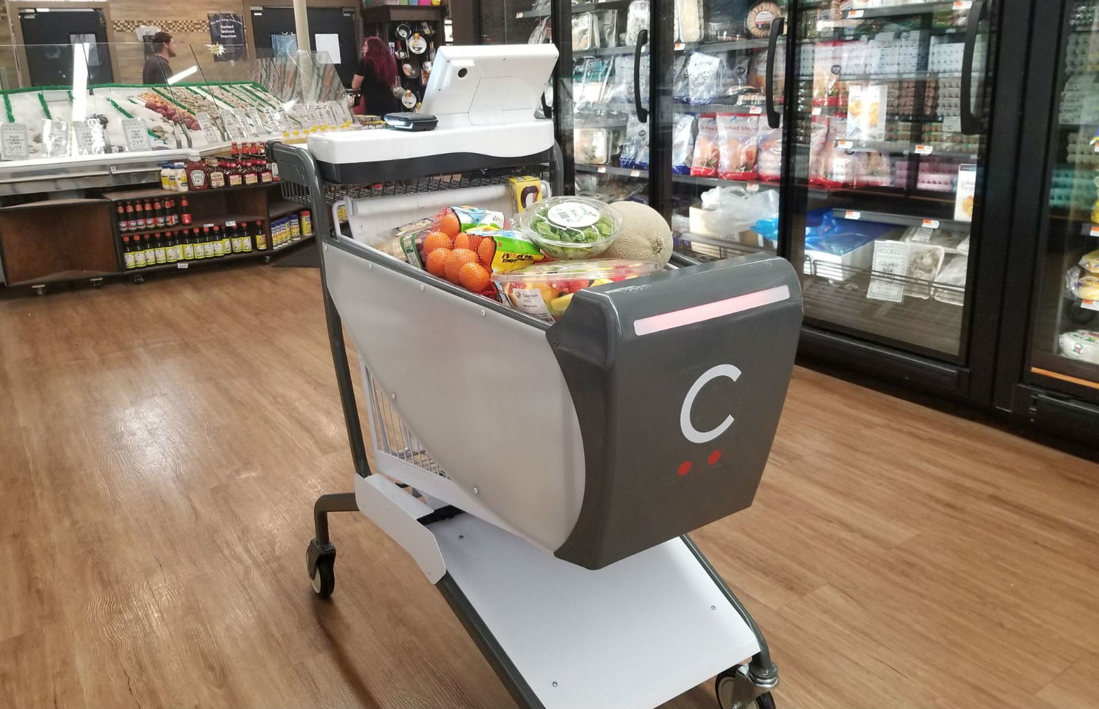 Caper's smart shopping cart uses AI to skip checkout lines | DeviceDaily.com