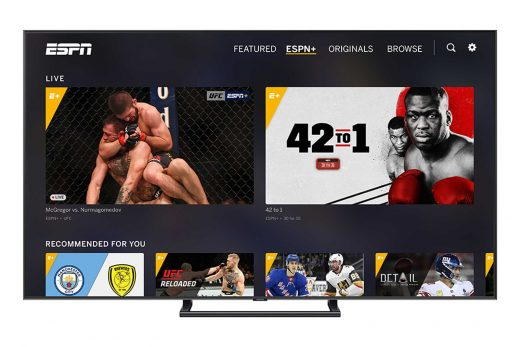 ESPN+ adds personalized recommendations and offline viewing