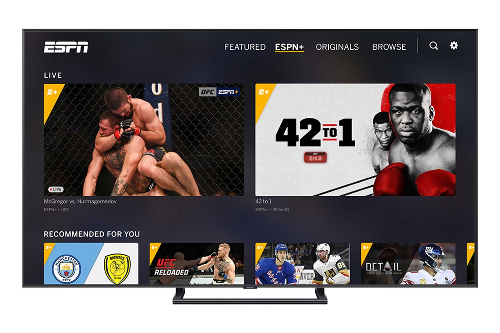 ESPN+ adds personalized recommendations and offline viewing | DeviceDaily.com