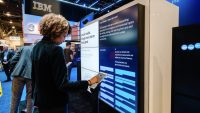 IBM's CES booth featured an experiment in crowdsourced debate