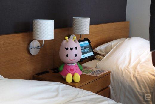 Japan's robot hotel 'fires' over half its robotic workers