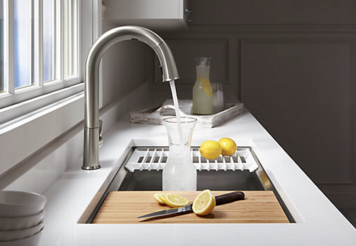 Kohler's Alexa-enabled Sensate faucet quenches thirst on command