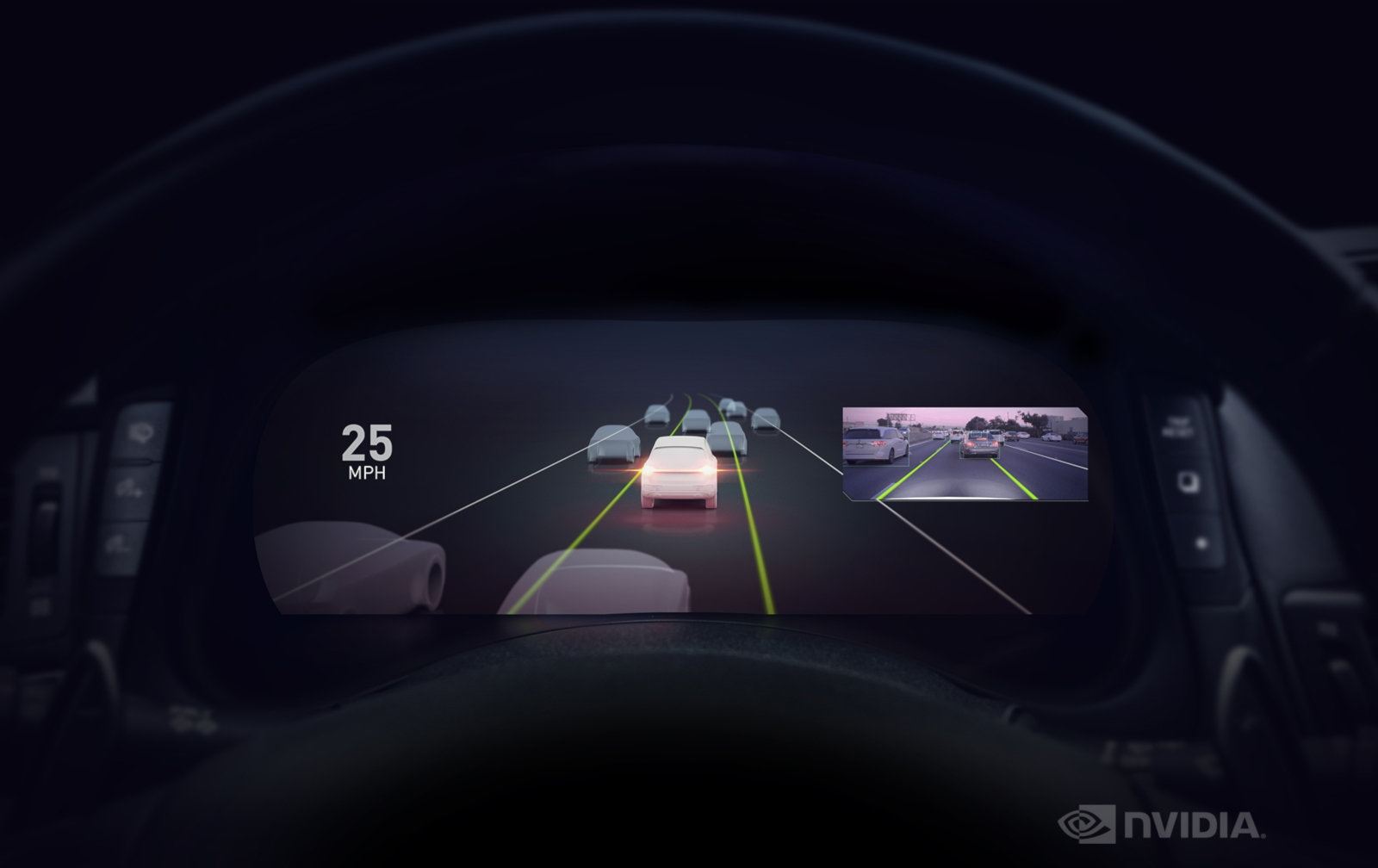 NVIDIA's Drive AutoPilot gives vehicles driver assistance features | DeviceDaily.com