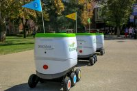 PepsiCo is using robots to deliver snacks to college students